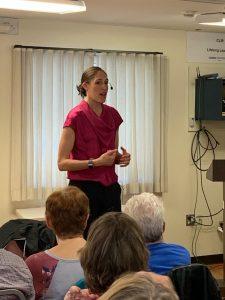 Rebecca Lobo Speaks at UConn