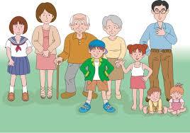 family of many generations