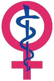 women symbol and health symbol